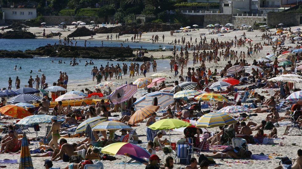 Sanxenxo. Playa de Areas