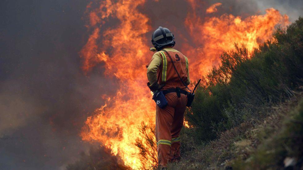 .Incendios en Asturias