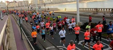A Coruña organiza desde el año 2012 el primer maratón de Galicia.