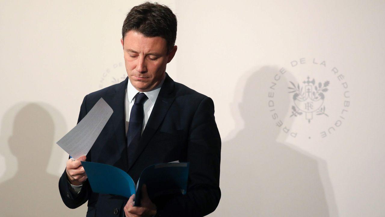 El ministro portavoz del Gobierno de Francia, Benjamin Griveaux