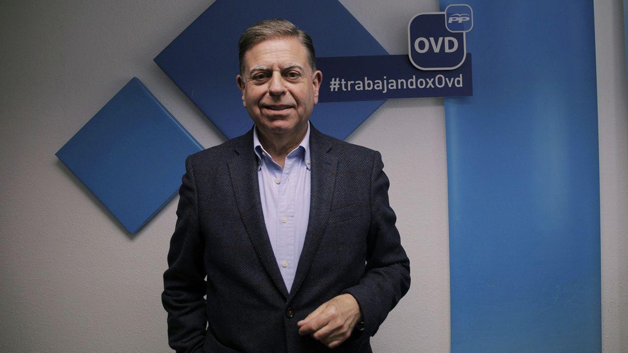 El perfil de Ignacio Cuesta.Alfredo Canteli, candidato del PP a la alcaldía de Oviedo