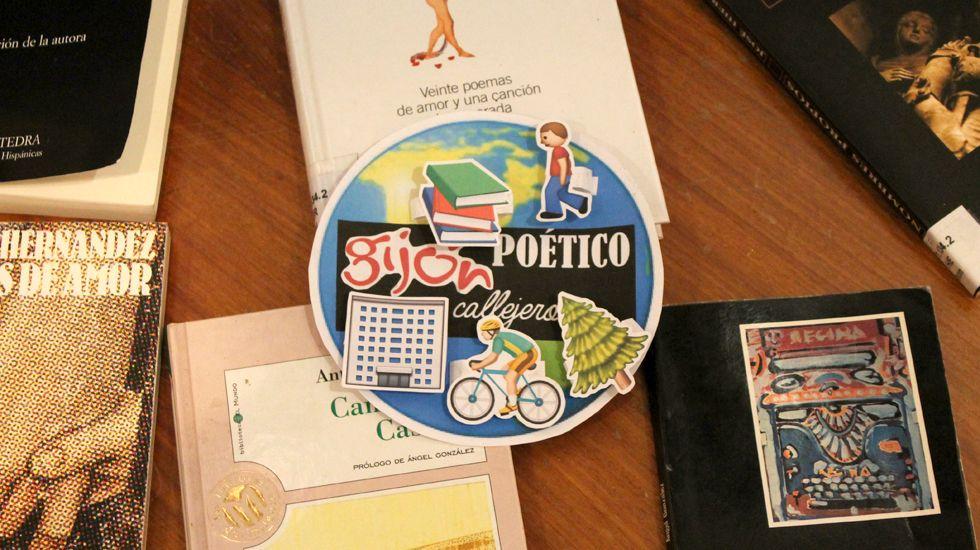 Logo del proyecto «Gijón, callejero poético»