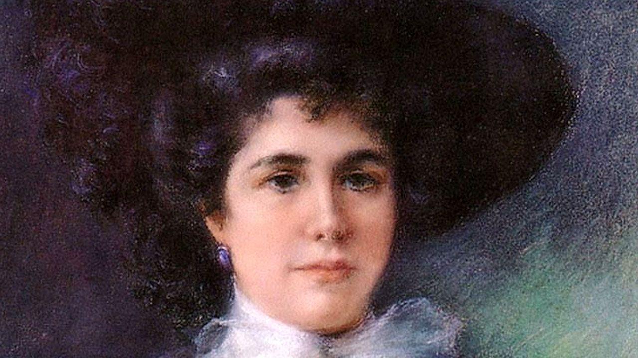 Autorretrato de 1903 de la pintora gijonesa Julia Alcayde