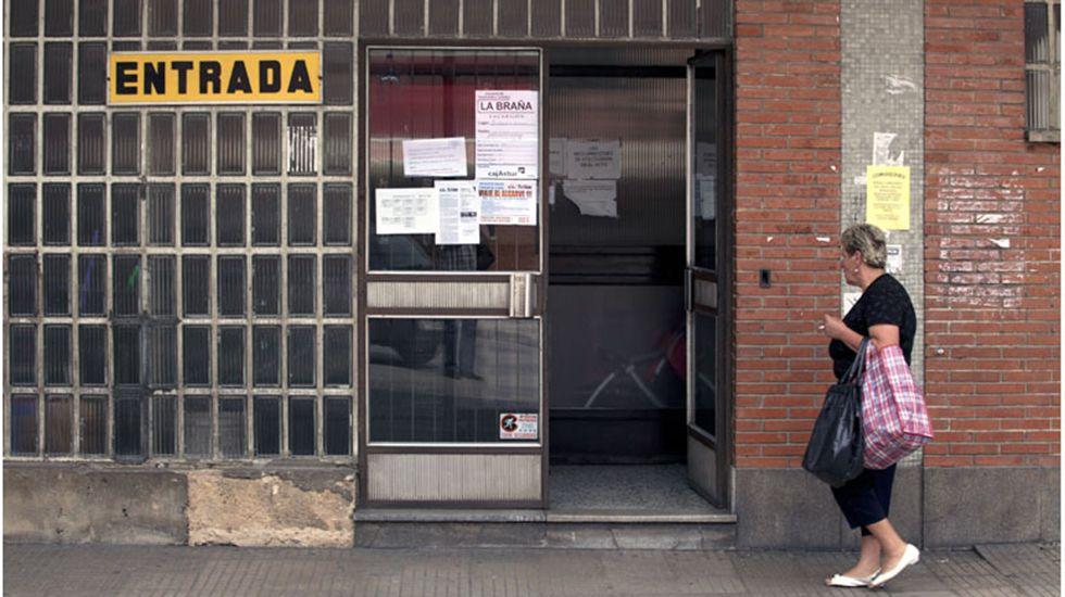 Concentración Segur Ibérica.Economato de Hunosa
