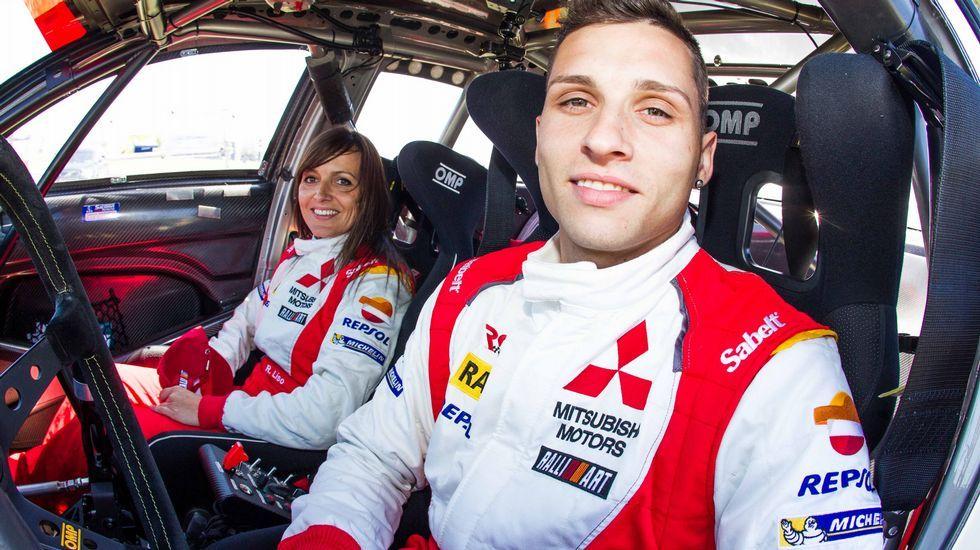 .Cristian García y Rebeca Liso lideran el nacional de asfalto