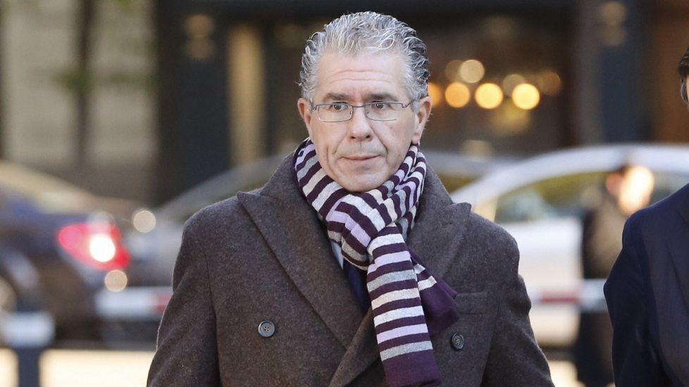 Granados salpica a Cifuentes en la Púnica con su ventilador ante el juez.Luis Bárcenas