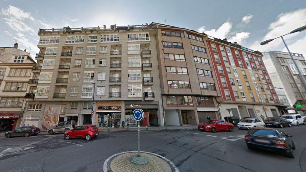 Chequeo a la etapa más popular del Camino Francés.La fuga se produjo en el edificio de seis plantas situado en el número 1 d ela calle Benigno Quiroga