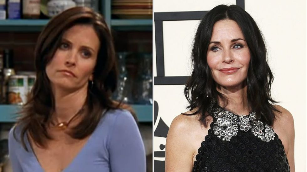 Courteney Cox, la actriz que dio vida a Monica en «Friends»