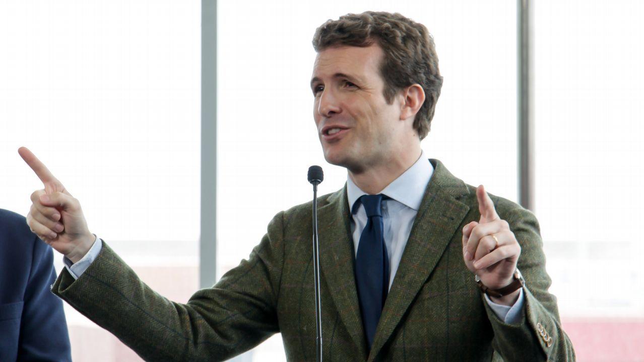 Casado: «Sánchez prefiere manos manchadas de sangre a manos pintadas de blanco».Una embarazada se somete a una ecografía