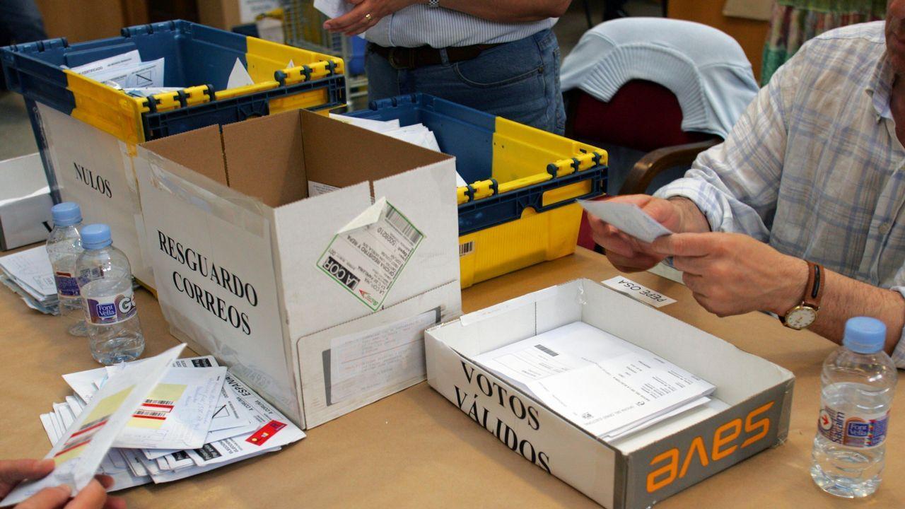 Recuento del voto del exterior en el 2005