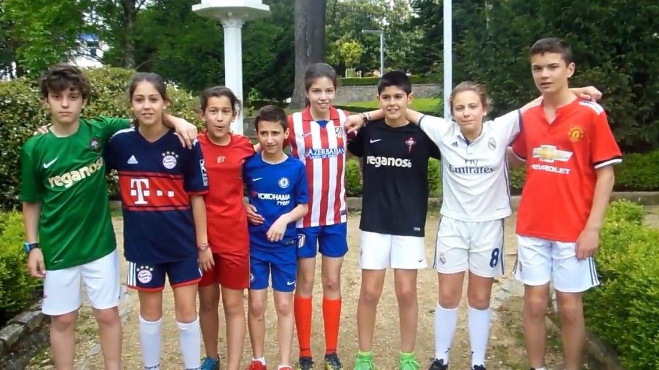 Así está siendo elTorneo Internacional Alevín Fútbol 7 Concello de Carballo