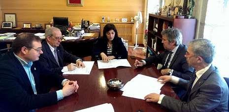 El Concello de Melide contará con el apoyo de la Cámara de Comercio para poner en marcha su vivero.