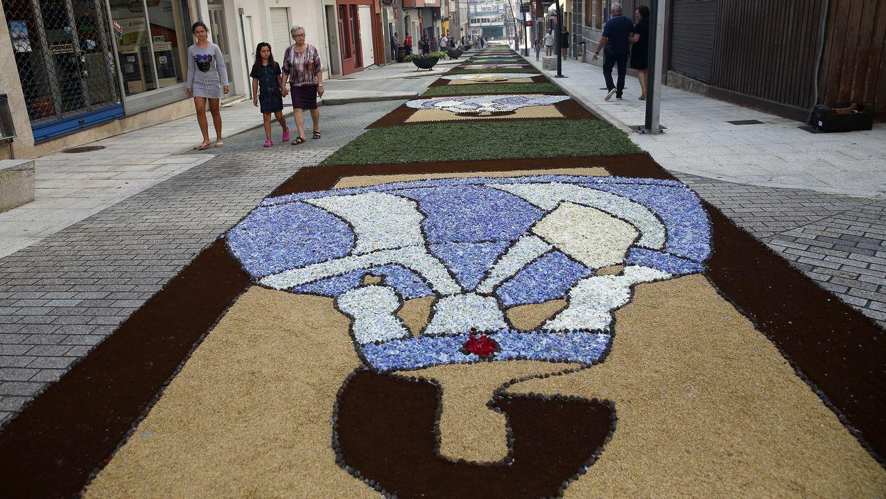 Las mejores alfombras del Corpus de Boiro