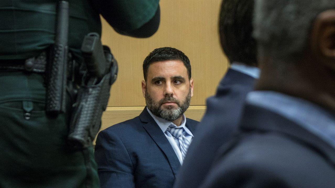 Pablo Ibar, durante la sesión en el que el jurado emitió su veredicto unánime de culpabilidad