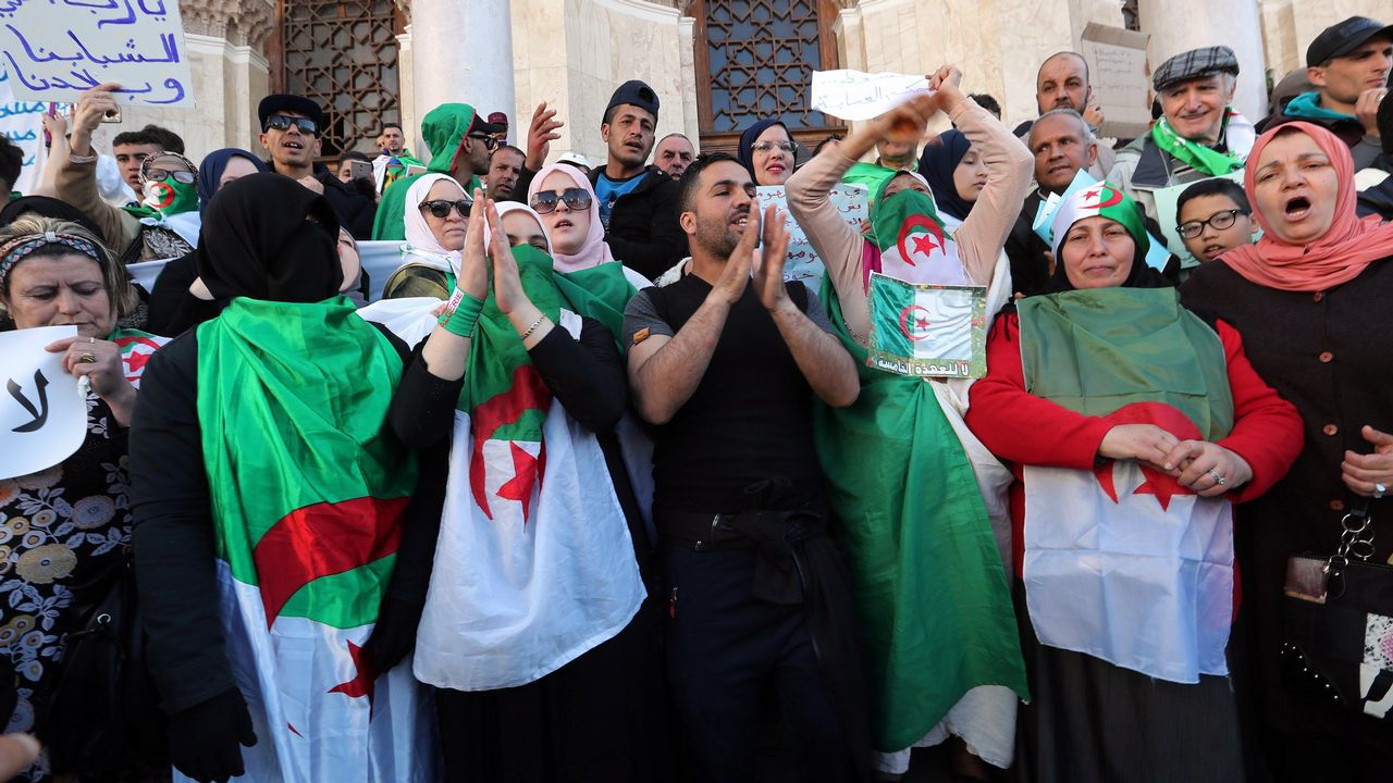 Cuarta semana de protestas en Argelia