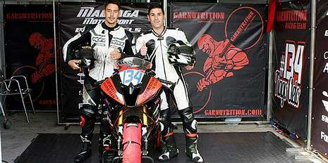 .Alfonso Vázquez correrá en Portimao con una Suzuki de Garnutrition.