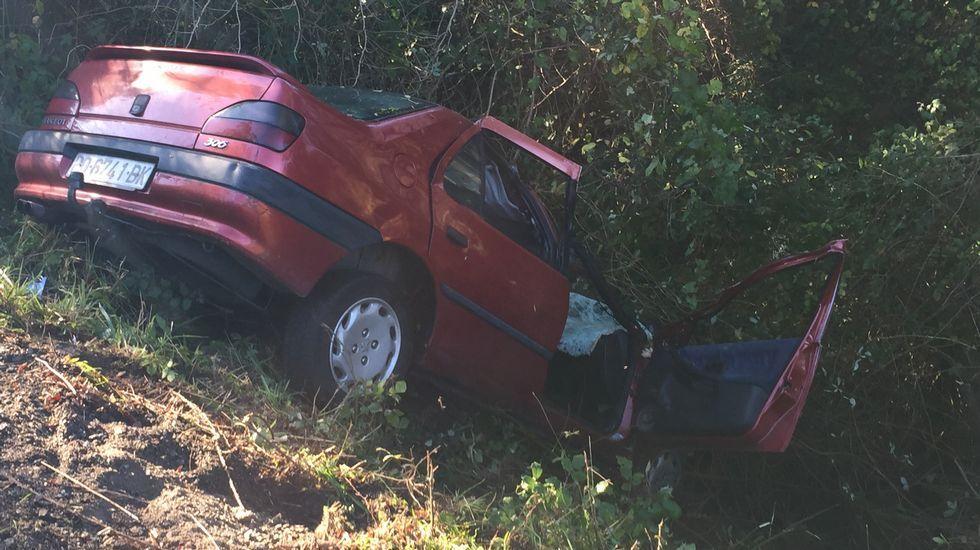 Accidente mortal en Armenteira.