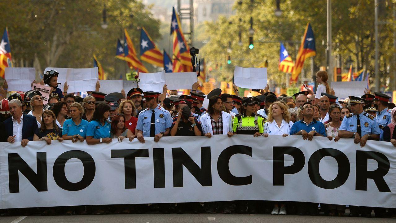 Barcelona gritó «no tenemos miedo».