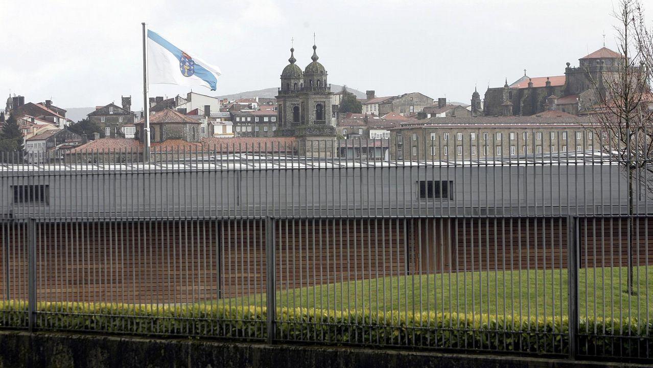 Otra vista de la residencia para el presidente de la Xunta