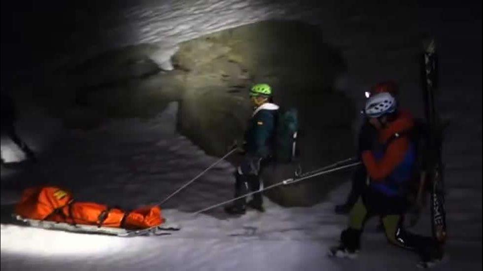 Rescatado el cadáver de una joven senderista en Gredos.Beatriz Ávila Cobos