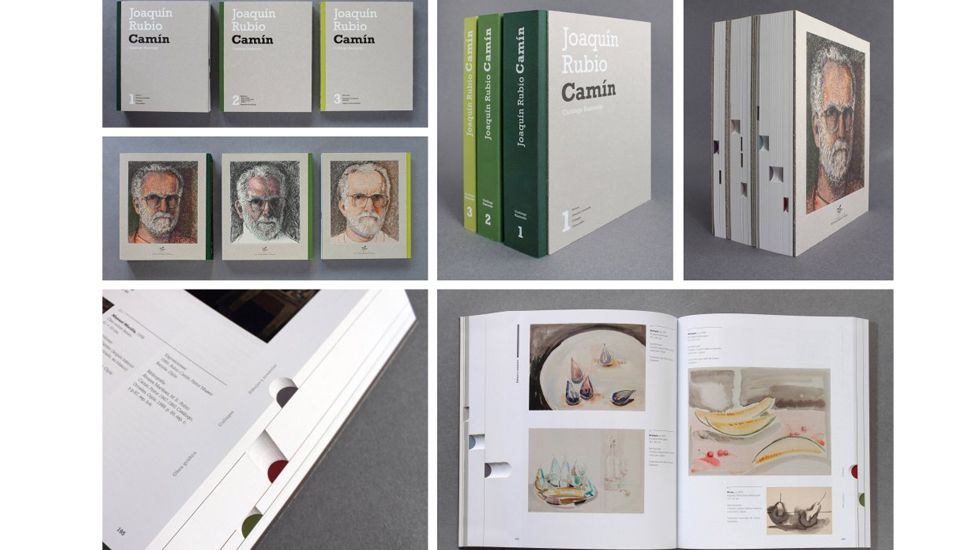 «Catálogo razonado» de Rubio Camín, de Manuel Fernández, premio Anuaria de Oro 2016 en publicaciones editoriales