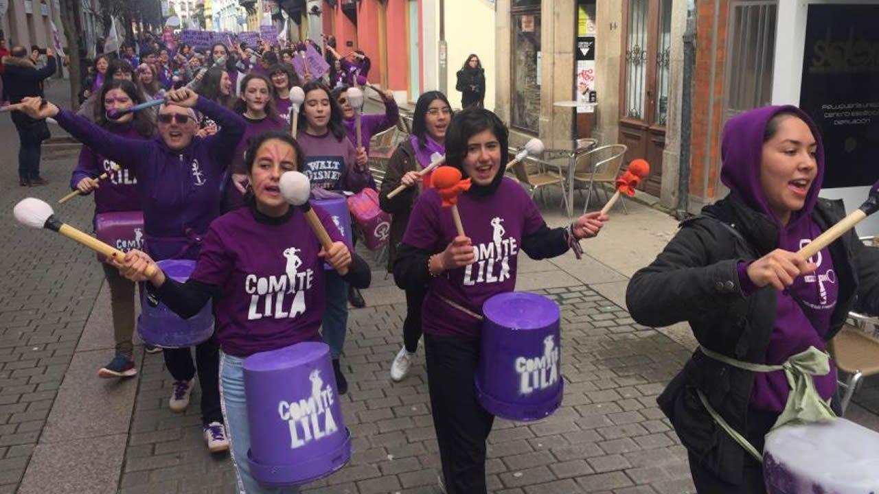 Marcha por el 8M en Ribadeo
