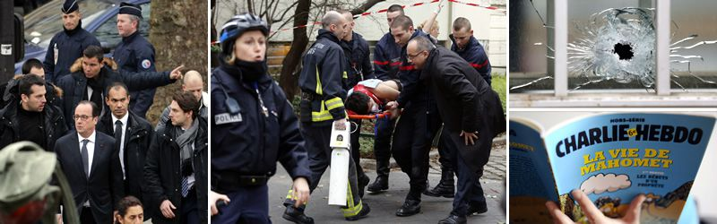 Tragedia en la sede de «Charlie Hebdo».En Niza, más de 23.000 personas se han manifestado en la emblemática avenida de los Ingleses con el lema «Yo soy Charlie».