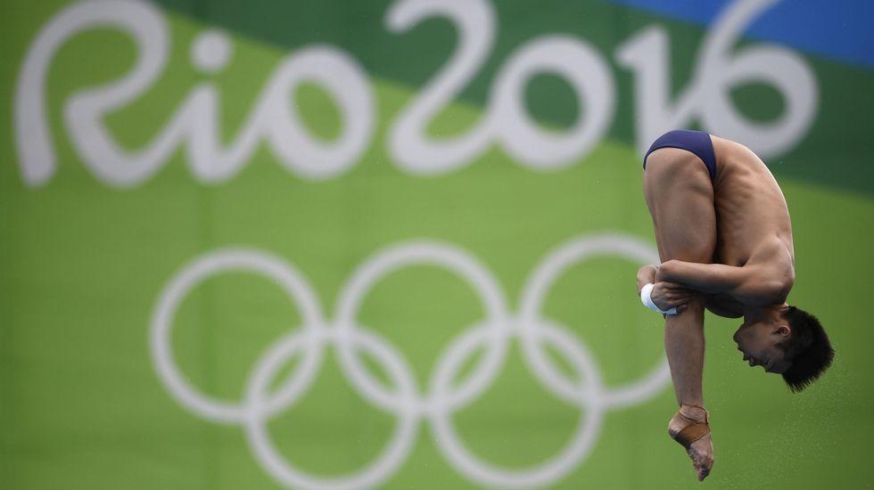Chen Aisen finaliza su paso por Río oro en salto de plataforma de 10 metros y sincronizado masculino, también desde 10 metros