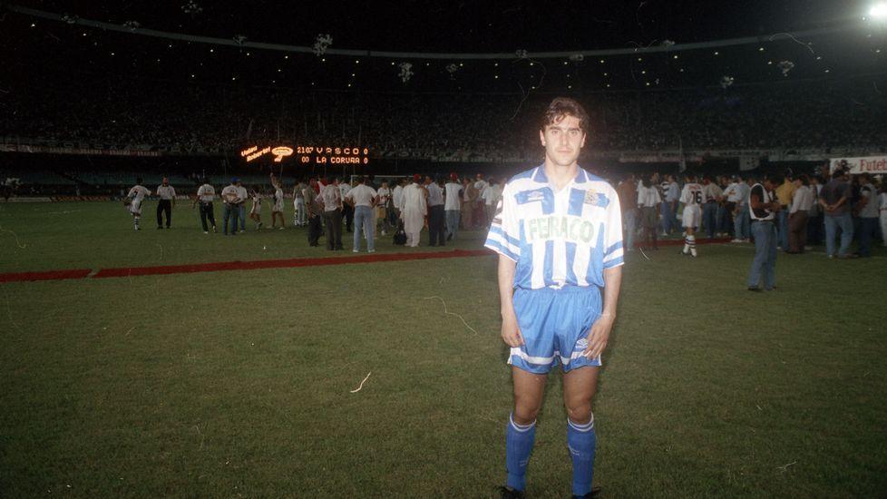 José Ramón, al llegar a Río.