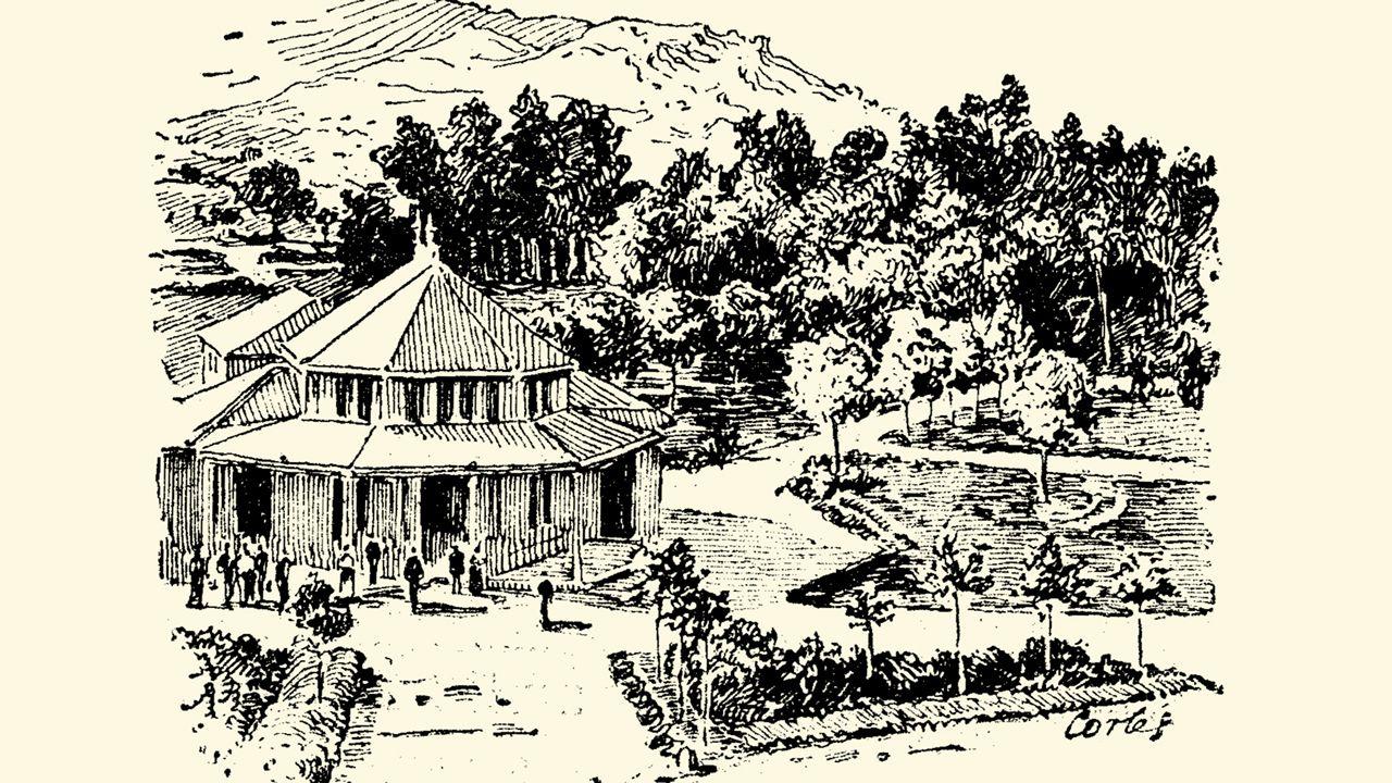 .Cabreiroá, desde donde El Hidalgo de Tor (Francisco Camba) envió la crónica que cerraba su gira de 1907 por los balnearios gallegos.