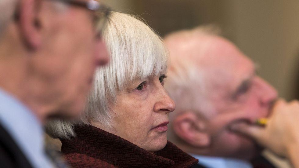 .La presidenta de la Reserva Federal de Estados Unidos, Janet Yellen
