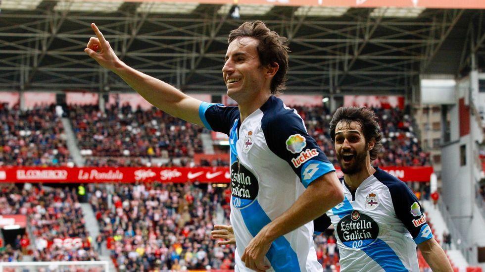 Las mejores fotos del Sporting-Deportivo.