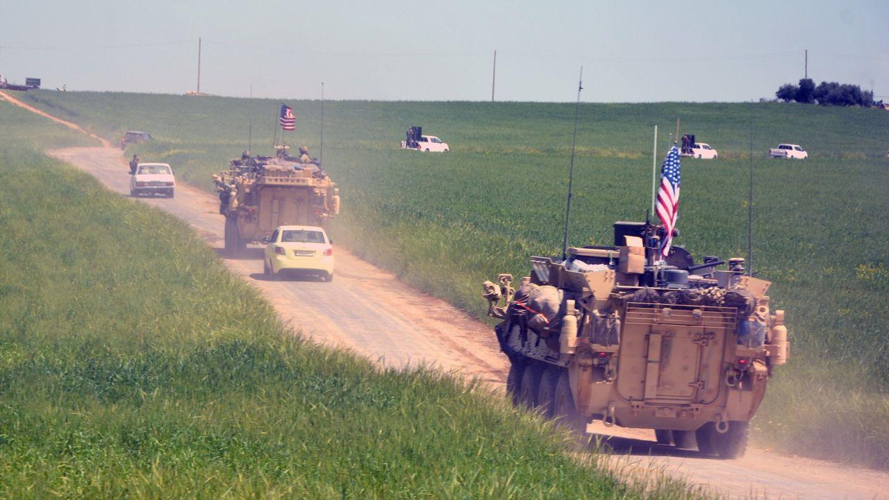 Trump visita a sus tropas en Iraq.Donald Trump durante la reunión de Ministros de Relaciones Exteriores de la Coalición Internacional Contra el Estado Islámico celebrada en Washington