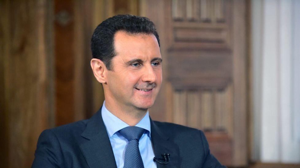 El presidente de Siria Bashar-al-Assad