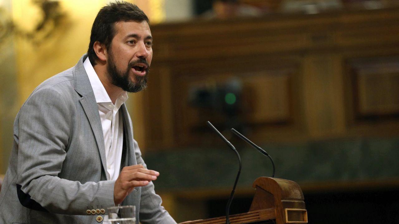 Pedro Duque niega irregularidades en la creación de su sociedad.Gómez-Reino en una imagen de archivo en el Congreso de los Diputados