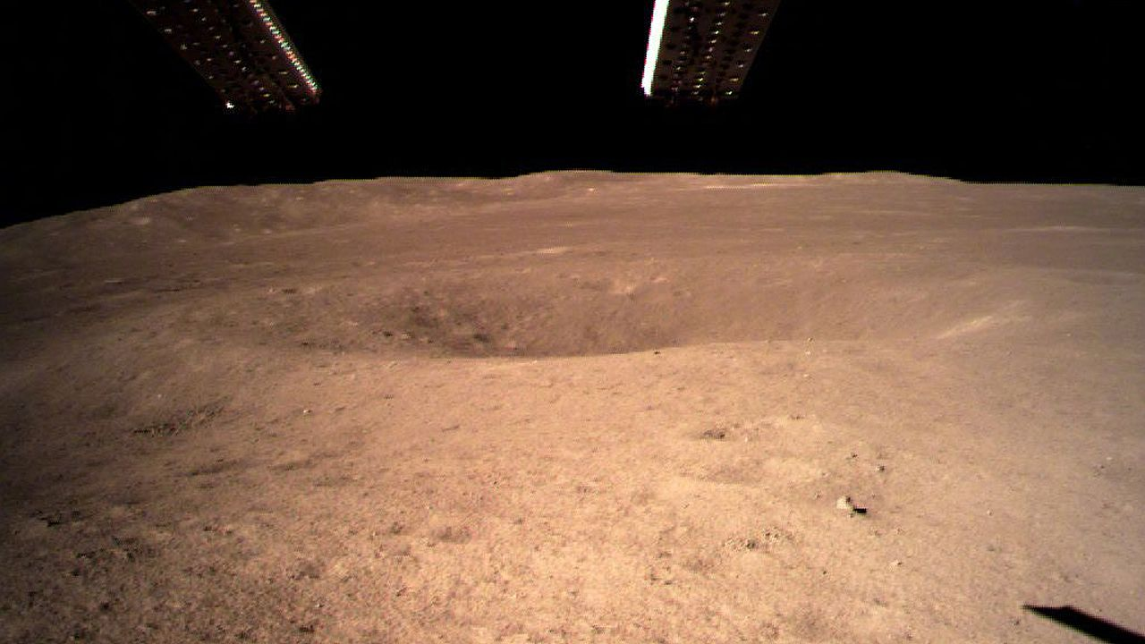 La cara oculta de la Luna, en imágenes