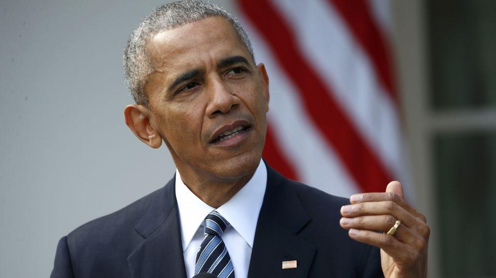 Obama pide «unidad» a Donald Trump