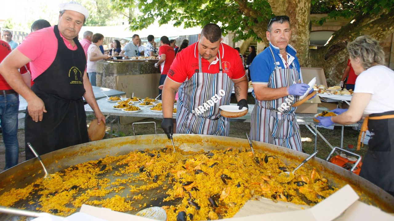 Fiesta de la paella en Vista Real