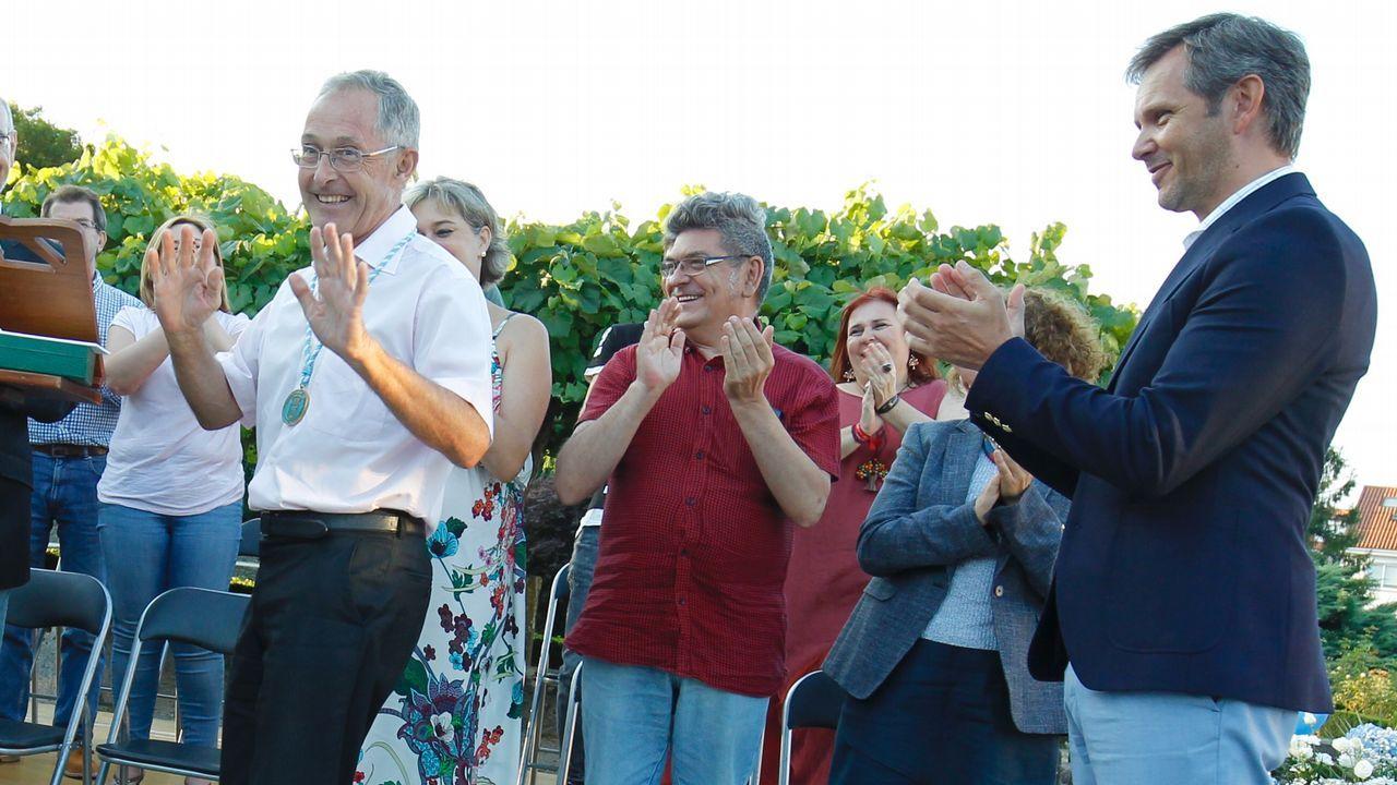 Inauguración da nova biblioteca do colexio de Meaño