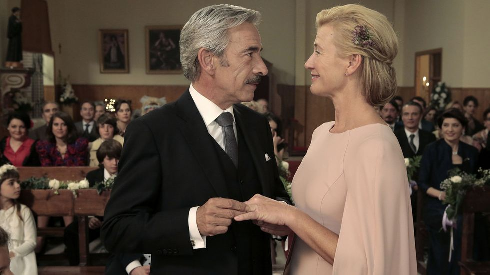 Javier Olivares en «Lait Motiv».Una escena del último capítulo emitido de la serie.
