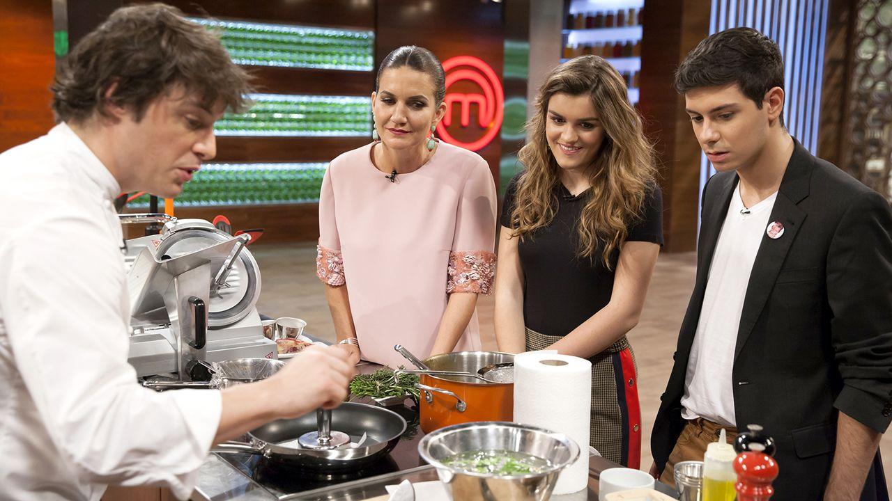Alfred y Amaia visitarán las cocinas de «MasterChef 6»
