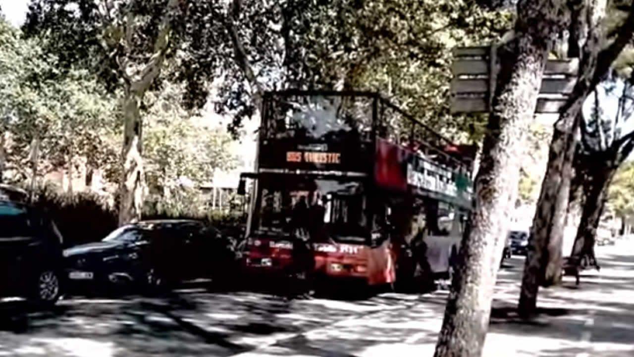 Así fue el ataque al bus turístico de Barcelona