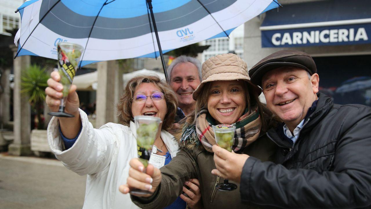 Así felicitan las fiestas y desean buen año los artistas asturianos.Julia Roberts protagoniza un anuncio de Lancôme