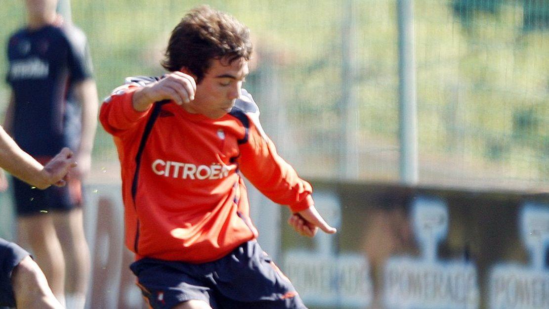 3 - Sevilla Atlético-Celta (0-0)-. 13 de junio del 2009. La imagen es de un entrenamiento de esa temporada.