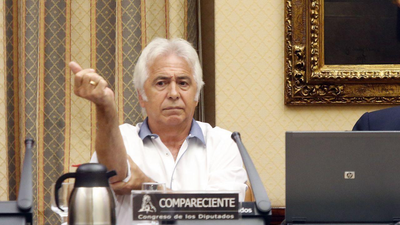 .Antonio Martín Marugán, durante la comparecencia de la comisión