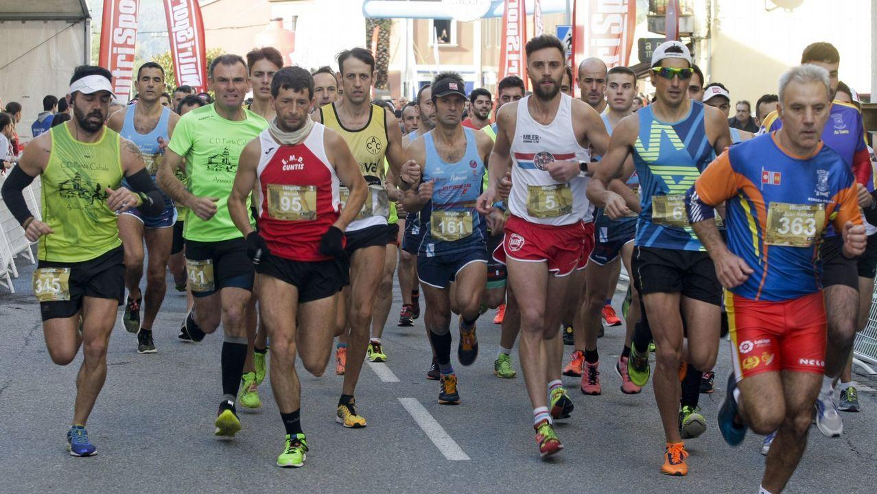 Existosa participación en la carrera De dous en dous, en Carballo