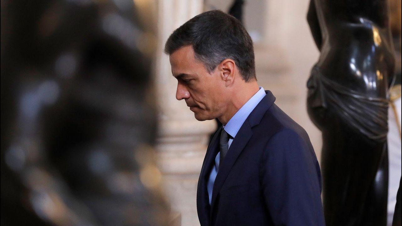 Pedro Sánchez no quiere a Pablo Iglesias sentado en el Consejo de Ministros