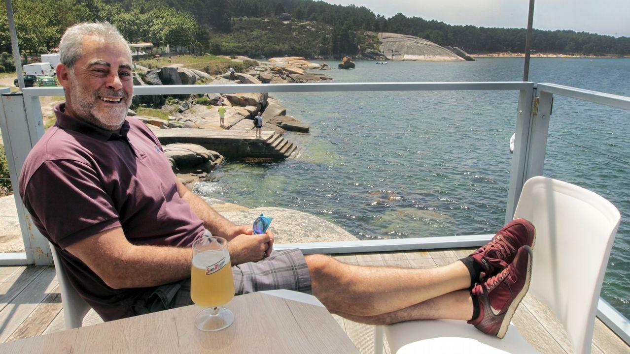 La ballena azul vuelve a Galicia.estaurante Ardora, en Noalla, Sanxenxo