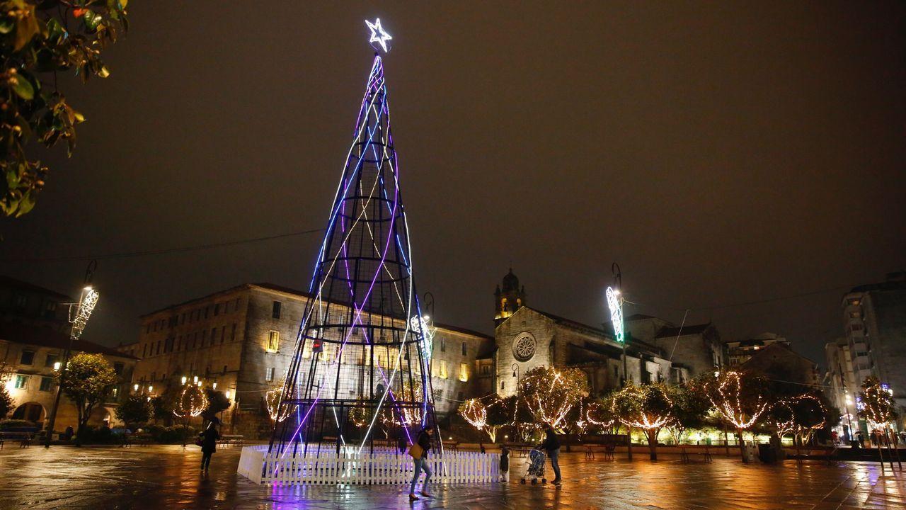 Las luces que en vez de encender el Nadal prendieron el cabreo.Fidel Castro hijo, en una imagen de archivo