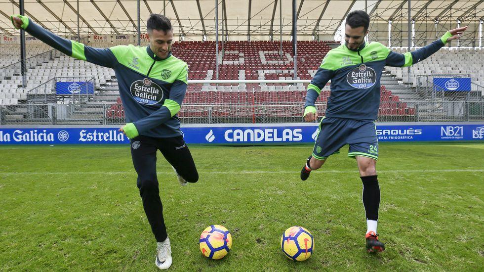 Los goles del Lugo vienen de Canarias.